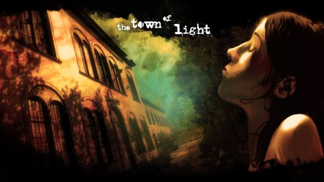 the town of light header