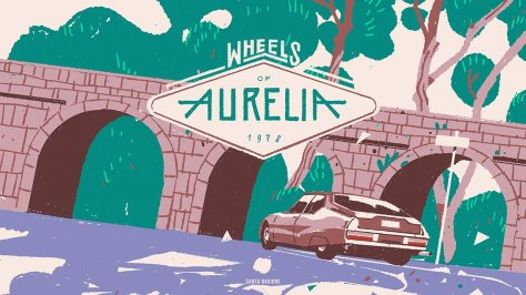 wheels of aurelia banner