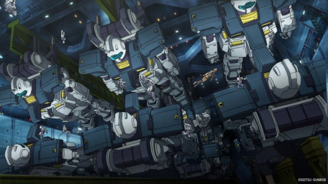 MS-Gundam-Thunderbolt-December-Sky-GM-Earth-Federations